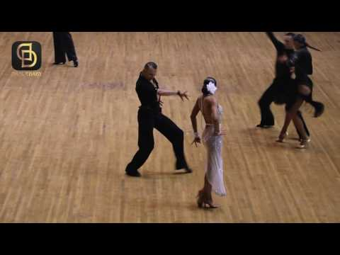 Professional Latin Final - Blackpool Dance Festival (China) By Dancebaby