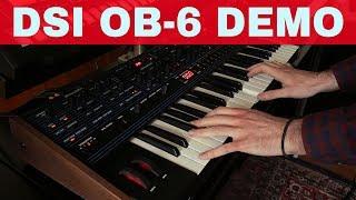 DAVE SMITH INSTRUMENTS OBERHEIM OB-6 SYNTH DEMO