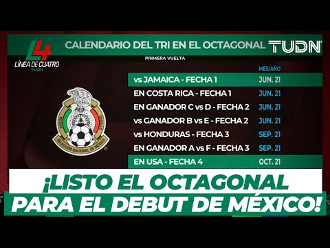 ¡Qatar 2022! Listo el Octagonal y el calendario de la Selección de México   TUDN
