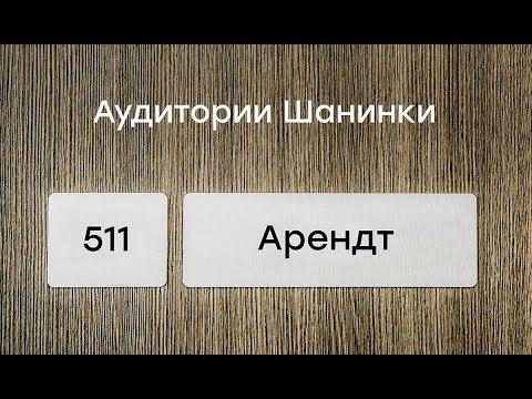 Оксана Мороз о Ханне Арендт
