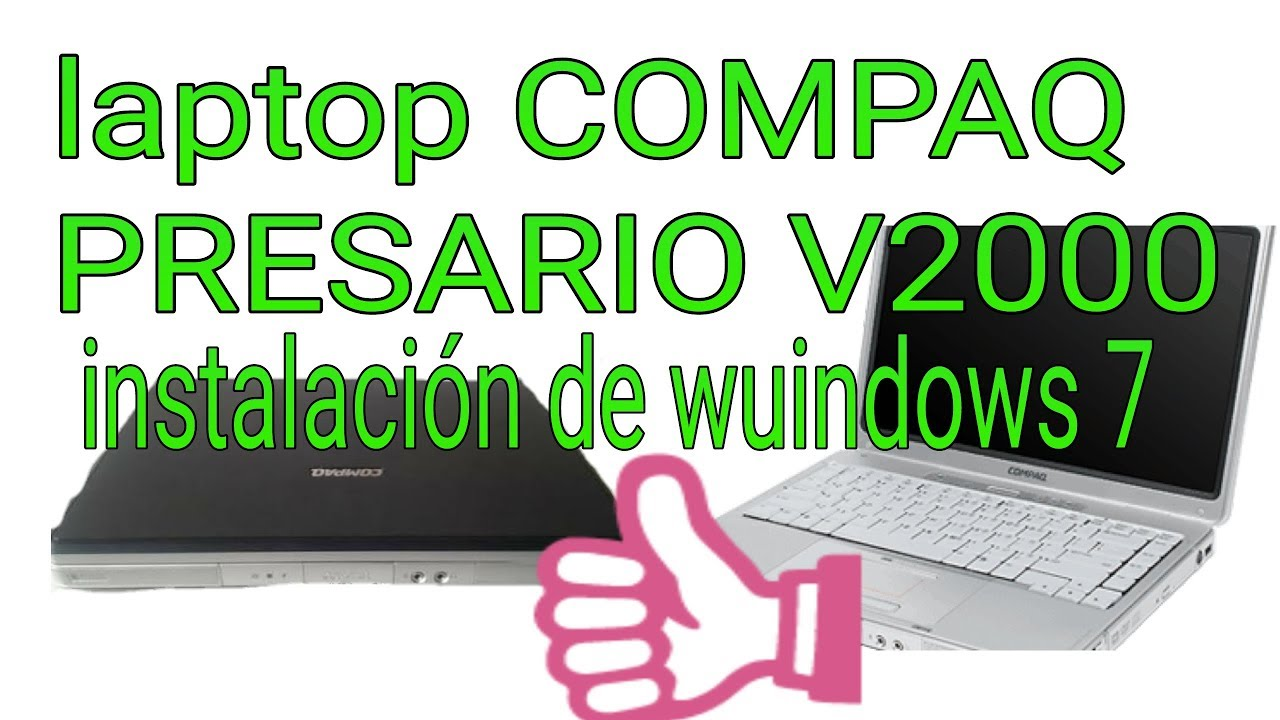 Compaq presario v2000 laptop drivers download for windows 7, xp.