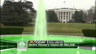 The White House Goes Green On St. Patrick's Day 2009