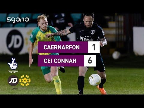 Caernarfon Connahs Q. Goals And Highlights