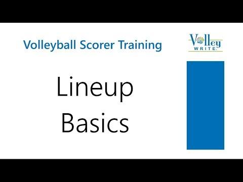 Volleyball Lineup Basics