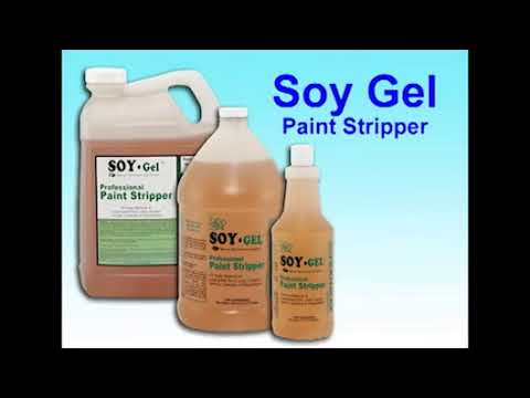 Think, you Soy based paint stripper thanks