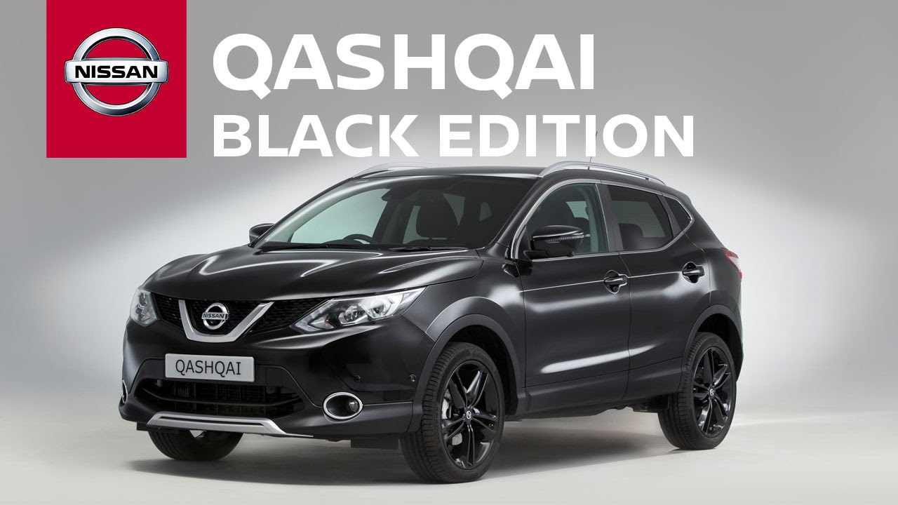 Nissan Qashqai Black Edition: the world's largest 3D pen