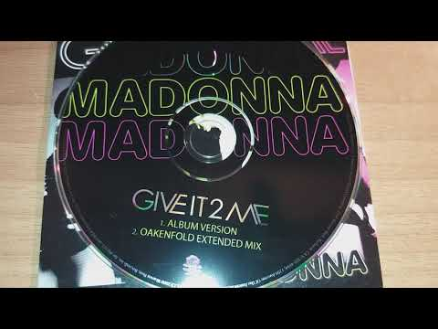 Madonna - Give It 2 Me (Car - CD Single Unboxing)
