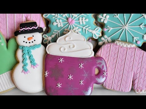how-to-decorate-winter-cookies---five-designs!