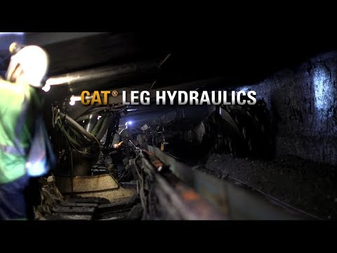 Roof Supports - Leg Hydraulics Operation | Cat®