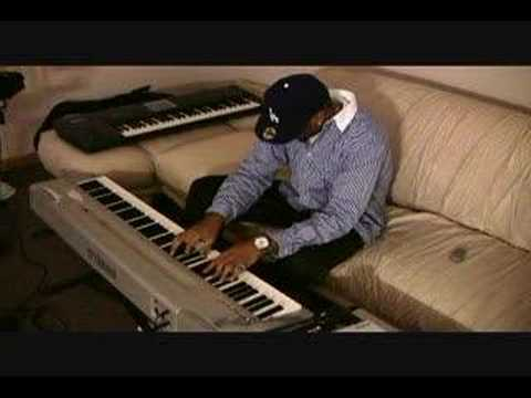 Platinum Producer T Finguz play classical piano