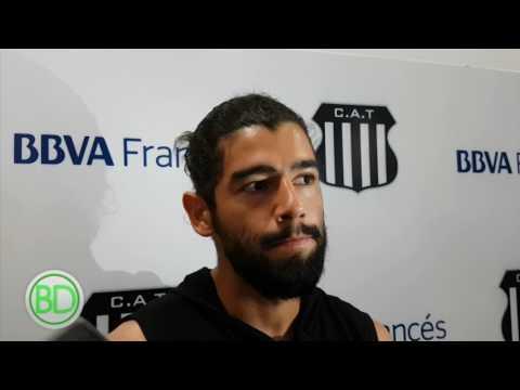 Rodrigo Burgos se despidió de Talleres