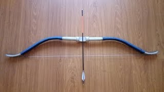 Как сделать лук из ПВХ трубы / How to make a bow out of PVC pipe