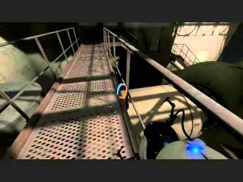 Let's Play Portal 2, Part 8: Shower Curtains