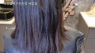 탄머리복구방법 염색후 머리감기 염색하는법