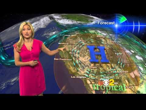 Jackie Johnson 2012/08/07 CBS2 HD; Pink...