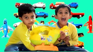 Ajay and Ajith play with Magic Helicopter | Ajay and Ajith Toys