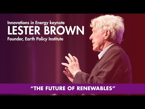 Lester Brown at Innovations in Energy - Tom Tom Founders Festival Mp3