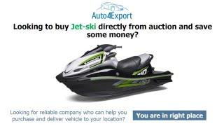 Jet ski export USA - Auto4Export