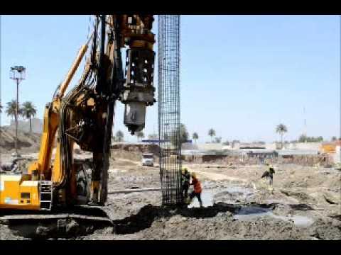 Drilling & Casting Bore Pile 15 m Length-2