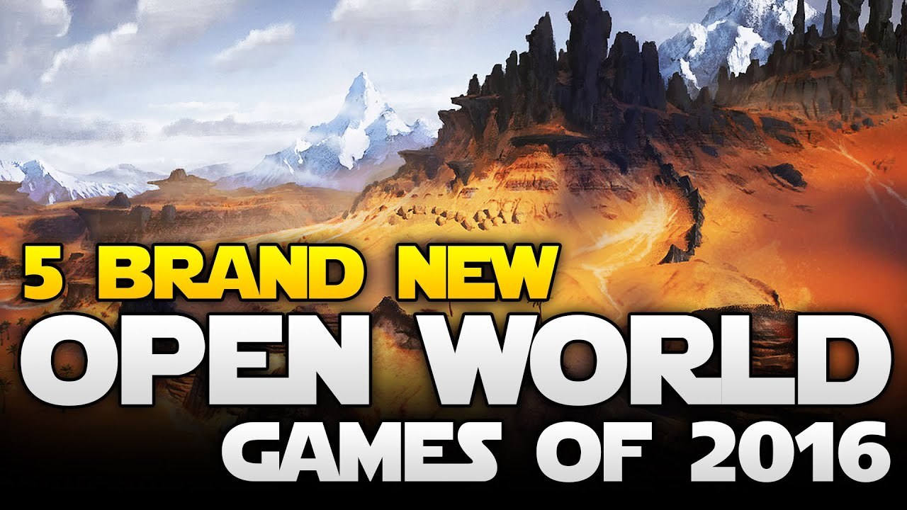 Top 5 New Multiplayer Open World Games Of 2016 You Need To