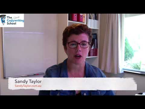 Sandy Taylor | The Clever Copywriting School