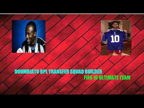 DOUMBIATOOOO - Sweaty New Transfers BPL Squad Builder