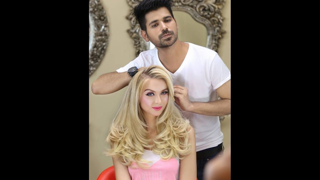 gorgeous hair cut & haircolor by kashee's beauty parlor|haircut tutorial 2017|must watch|beauty tips
