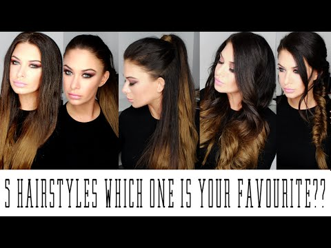 Beauty works hair extensions 5 hairstyles youtube beauty works hair extensions 5 hairstyles pmusecretfo Choice Image