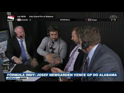 Fórmula Indy: Fernando Alonso acompanha GP do Alabama