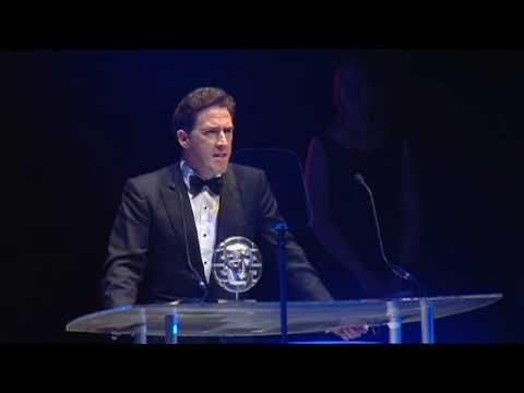 Rob Brydon receives the BAFTA Cymru Siân Phillips Award