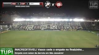 Vasco 1 x 1 Atlético-PR - 34ª RODADA - Brasileirão - 14/11/2018 - AO VIVO