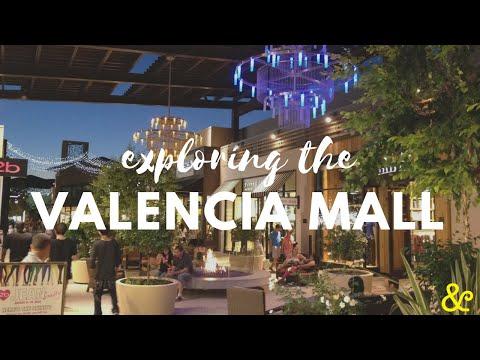 Exploring the Westfield Valencia mall   Los Angeles