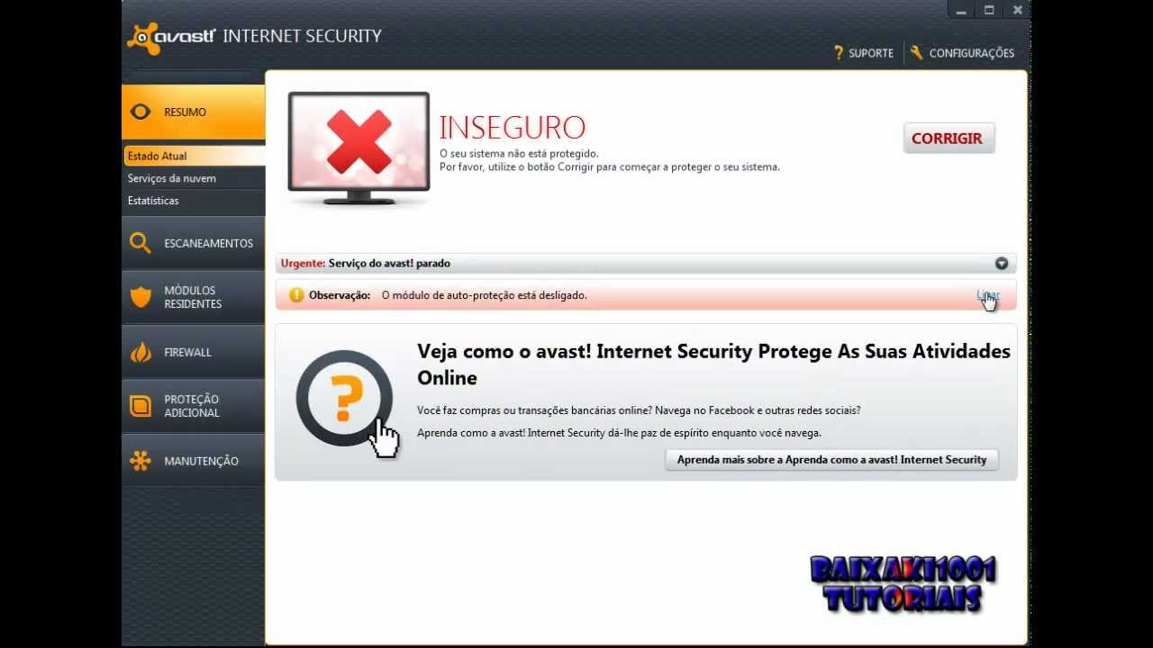 how to close ports in avast internet security