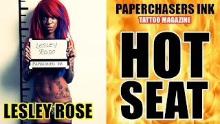 PAPERCHASERS INK - LESLEY ROSE - HOT SEAT
