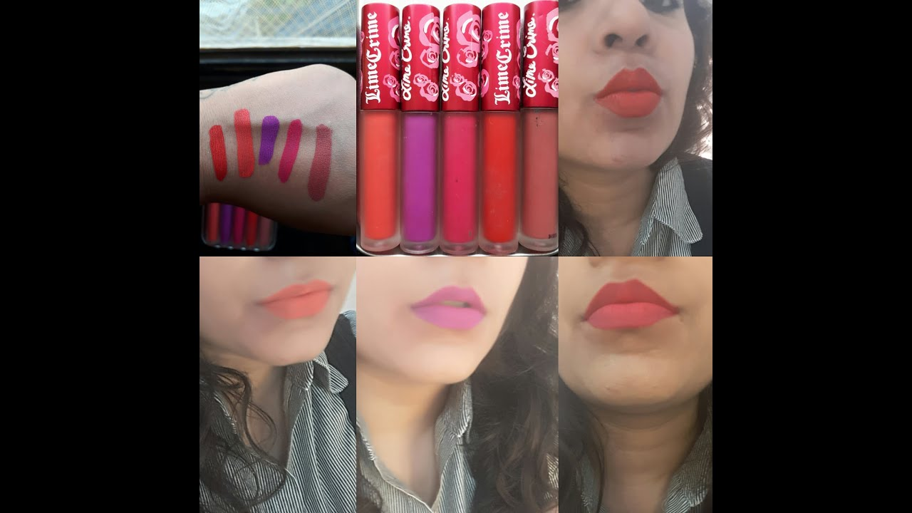 Home polly velvetine lipstick - Lime Crime Velvetine Collection For Brown Olive Indian Skin Tone