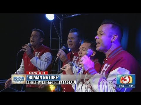 Human Nature performs before their AZ PBS special