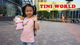 Dâu Tây đi khu vui chơi trẻ em - Một ngày đi chơi TiniWorld