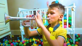 Cinco Crianças - histórias engraçadas para crianças