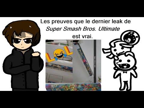 Les preuves que le dernier leak de Super Smash Bros. Ultimate est vrai - MDRlol83