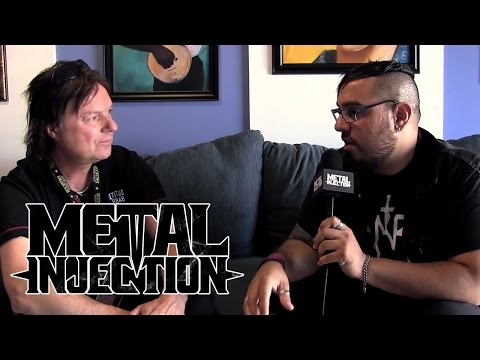 Andy LaRocque of KING DIAMOND Interview at Mayhem Fest | Metal Injection