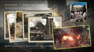 Call of Duty WW2 PS4 | Modo GUERRA #1 | gameplay multijugador | 60fps | Español