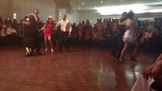 Melbourne Cup Dinner Dance 2013 Ballroom Dance Competition #1