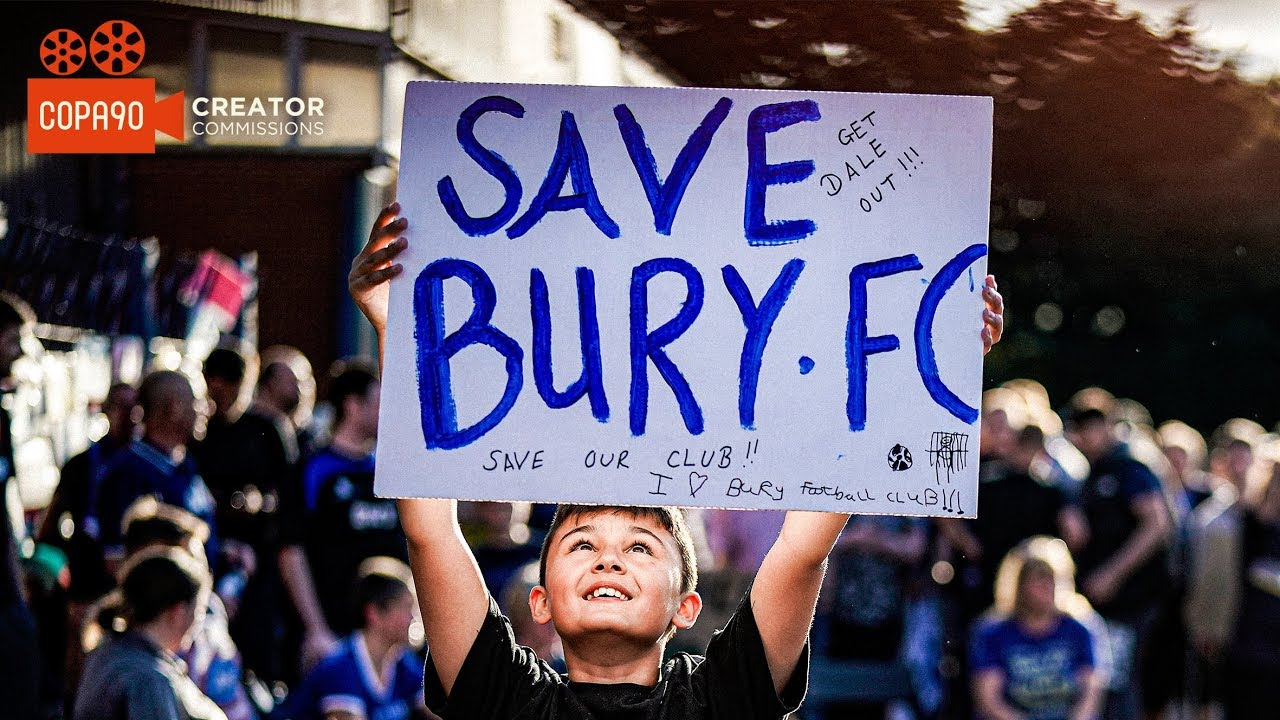 Download Buried Alive: The Bury FC Story