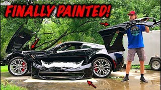 Rebuilding A Wrecked 2017 Corvette Z06 Part 7