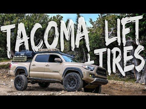 Tacoma Lift + Tires -