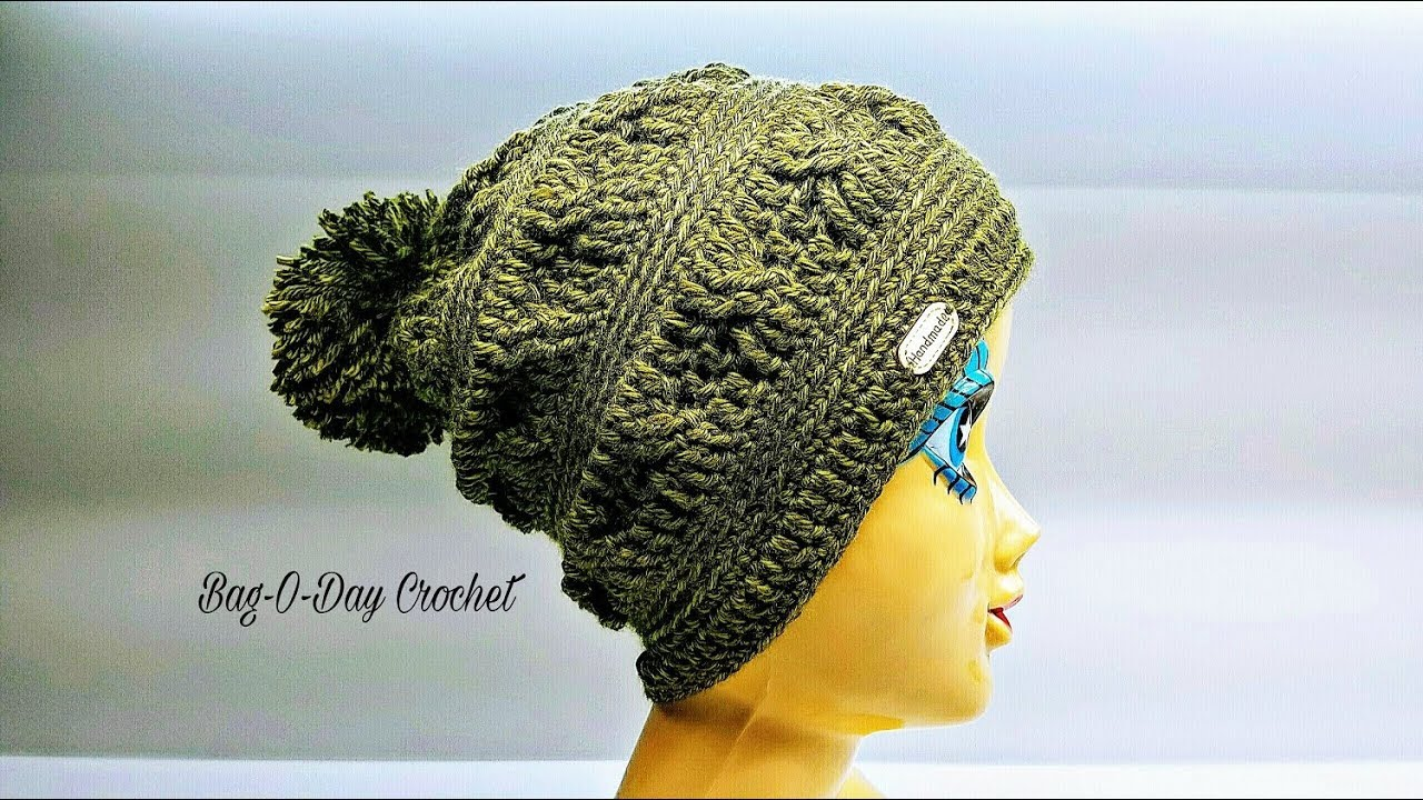 cdde558f157 How To Crochet - SLOUCHY HAT