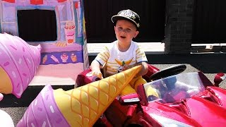 ИГРАЕМ В МАГАЗИН МОРОЖЕНОГО Едем на Машинах Игрушки Для Детей VIDEO for children Shopping fun(, 2016-07-13T06:21:39.000Z)