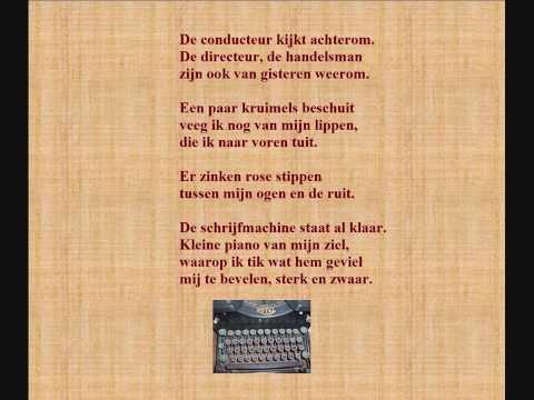 Gerrit Achterberg Gedicht Typiste Door Jeanine Schevernels: tvstreamtimes.co/stream/jan-van-nijlen-1884-1965-gedicht-februari