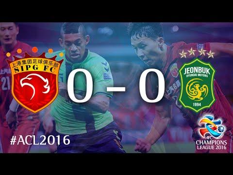Shanghai SIPG vs Jeonbuk Hyundai Motors (AFC Champions League: Quarter-final – First-leg)
