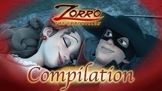 ÉPISODES FINAUX! Compilation | Les Chroniques de Zorro | Episode 25 - 26 | Dessin de super-héros